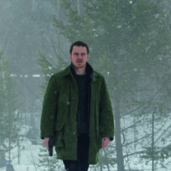 Michael Fassbender stars as Harry Hole in The Snowman