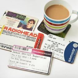 Turn Used Tickets Into A Great Stocking Filler