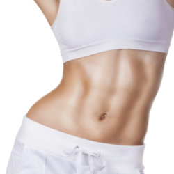 how to get a toned stomach in a month