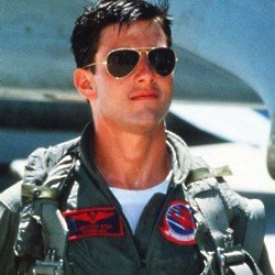 Tom Cruise as Maverick in Top Gun / Picture Credit: Paramount Pictures