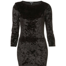 Must-have velvet dress from Topshop
