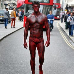Bloody Bill took to the streets of London