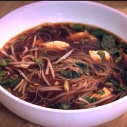 VIDEO: Phil Vickery's Vietnamese Pho with Turkey and Rice Noodles