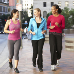 Walking is a great low-impact exercise