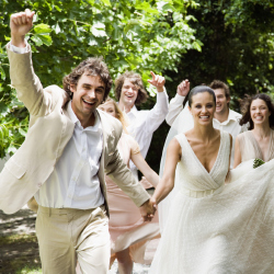 Young Brides Move Away from White Wedding