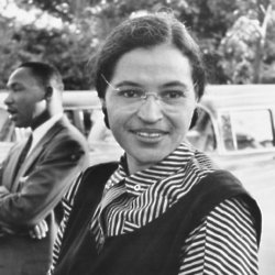 Rosa Parks / Photo Credit: Wikimedia Commons