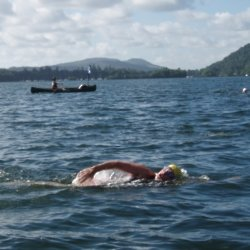 Wild Swimming in Lake Windermere