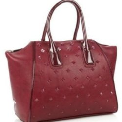 This wine coloured tote can be worn with plenty of your wardrobe