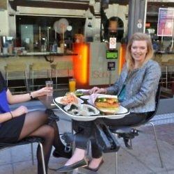 YO! Sushi Launch their New Burger on Flying Tray