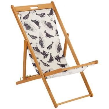 John Lewis Painterly Floral Deck Chair