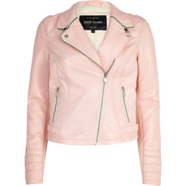 Pink leather jacket uk – Modern fashion jacket photo blog