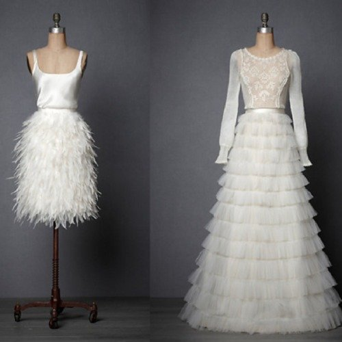Alternative Wedding Dresses : Alternative bridal style like olivia palermo
