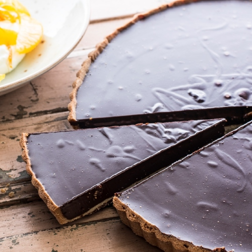 Yeo Valley Chocolate Ganache Tart