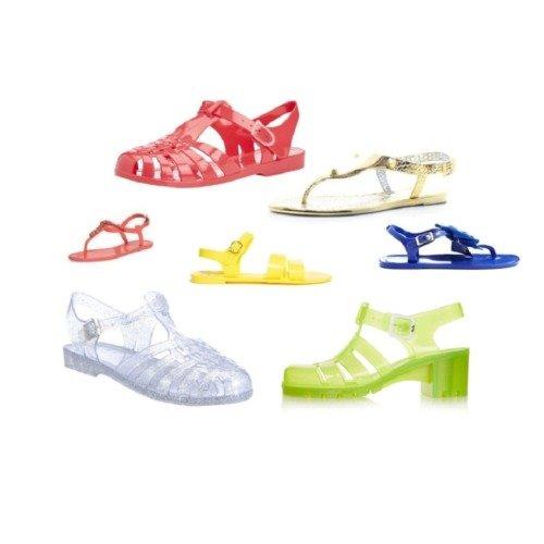 5e2c80e0fa3e Holiday Fashion  Jelly sandals