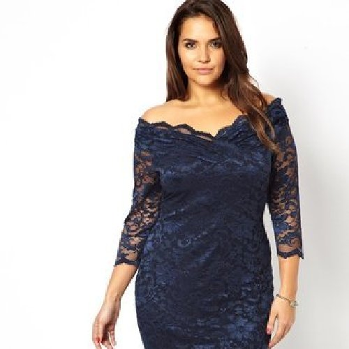 Fashion for curvy women: The lace dress