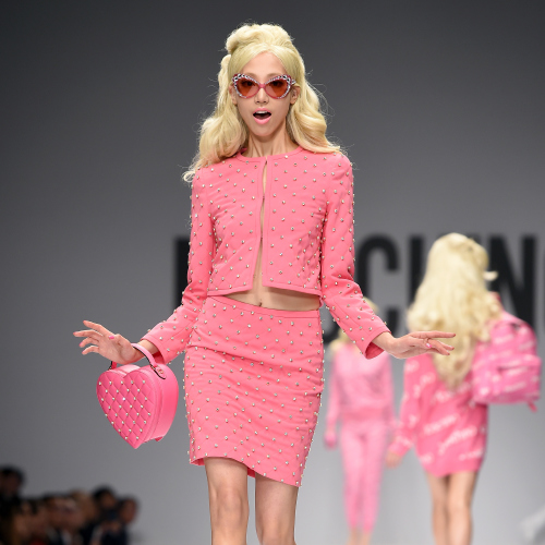 059fdd351fa Jeremy Scott brings Barbie to life with Moschino capsule collection