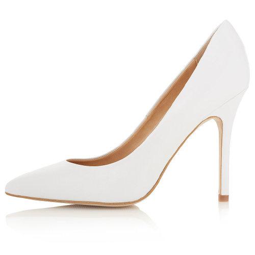 White Heels: Designer or Deal?