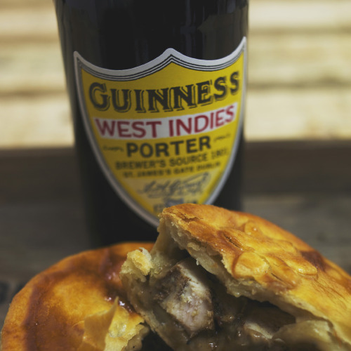 The West Indies Porter Jerk Chicken Pie